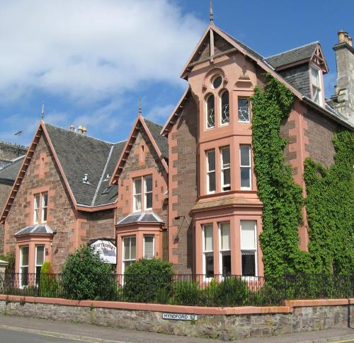 Shaftesbury Hotel in Dundee, Angus, East Scotland