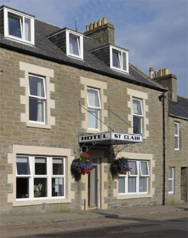 St Clair Hotel in Thurso, Highland, Highlands Scotland