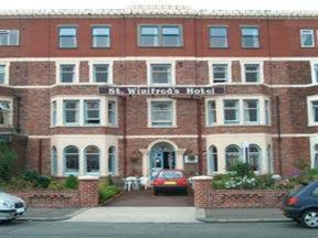 St. Winifreds Hotel in Bare, Lancashire, North West England