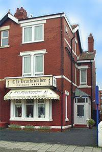 The Beachcomber Hotel in Blackpool, Lancashire, North West England