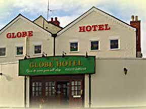 The Globe Hotel in Flore, Northamptonshire, Central England