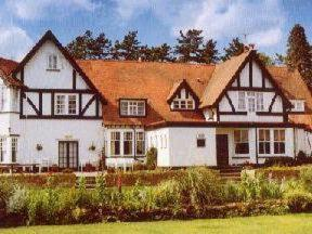 Foxcombe Lodge in Oxford, Oxfordshire, Central England