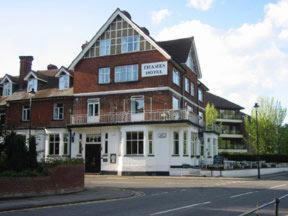 The Thames Hotel in Taplow, Berkshire, Central England