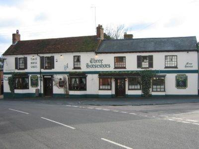 The Three Horseshoes in Drayton Parslow, Buckinghamshire, Central England