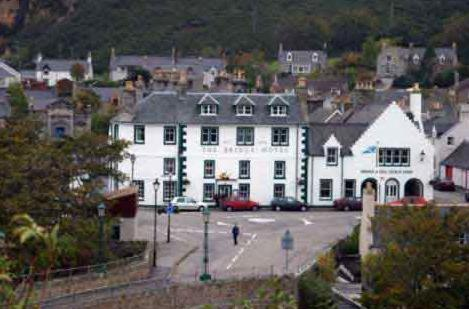 The Bridge Hotel in Helmsdale, Highland, Highlands Scotland