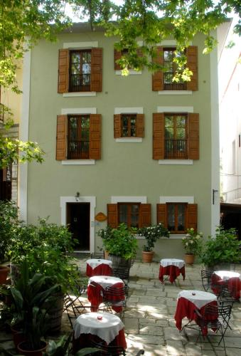 Hotel Filoxenia - Central Square of Portaria Greece