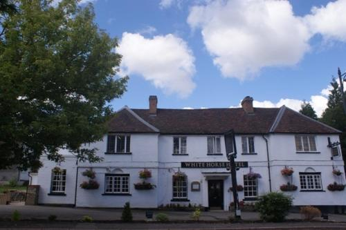 The White Horse Hotel in Hertford, Hertfordshire, Central England