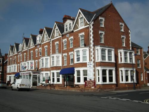 Marlborough Hotel in Felixstowe, Suffolk, East England