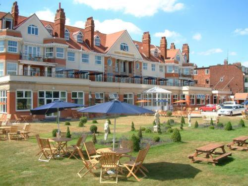 The Royal Hotel in Skegness, Lincolnshire, East England
