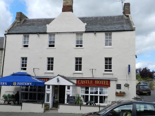 Castle Hotel in Cornhill-on-Tweed, Northumberland, North East England