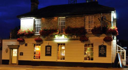 The Earl Of Derby in Cambridge, Cambridgeshire, East England