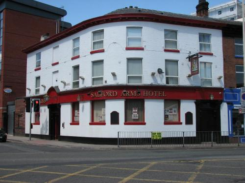 Salford Arms Hotel in Manchester, Greater Manchester, North West England