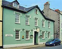 Bishopsgate House Hotel in Beaumaris, Anglesey, North Wales