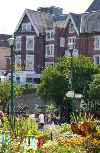 Lampeter Hotel in Bournemouth, Dorset, South West England