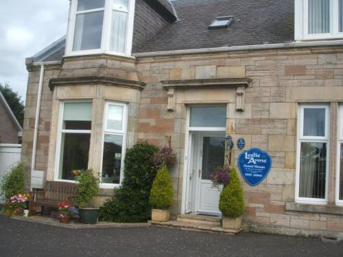 Leslie Anne Guest House in Ayr, Ayrshire, South West Scotland