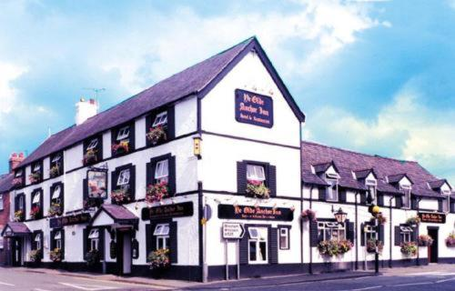 Ye Olde Anchor Inn in Ruthin, Denbighshire, North Wales