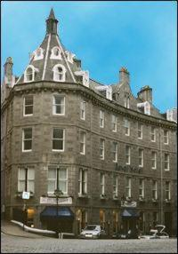 Royal Hotel in Aberdeen, Aberdeenshire, East Scotland