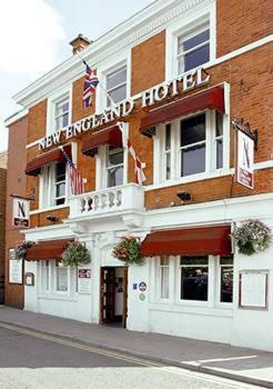 The New England Hotel in Boston, Lincolnshire, East England
