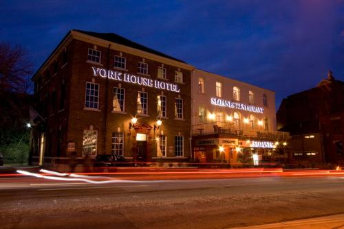 York House Hotel in Wakefield, West Yorkshire, North East England
