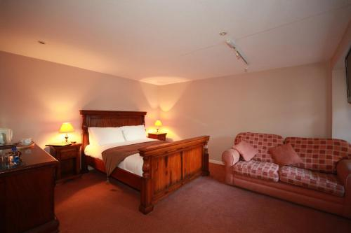 The White Hart Hotel in Wells, Somerset, South West England
