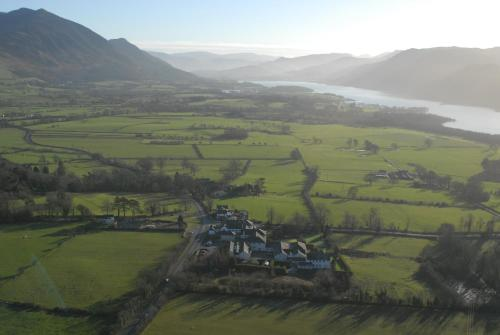 The Castle Inn Hotel in Bassenthwaite, Cumbria, North West England
