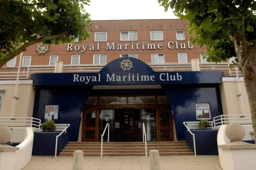 Royal Maritime Club in Portsmouth, Hampshire, South East England