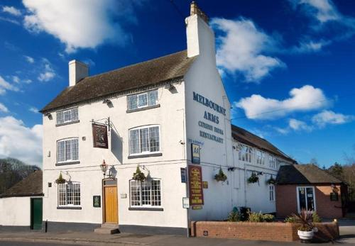 Melbourne Arms in Castle Donington, Leicestershire, Central England
