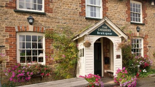 The Chequers Inn in Southmoor, Oxfordshire, Central England