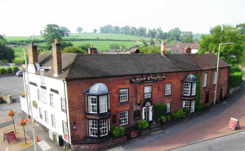 Gaskell Arms Hotel & Restaurant in Much Wenlock, Shropshire, West England