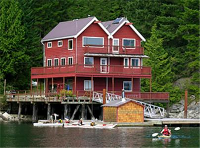 Discovery Islands Lodge Photo