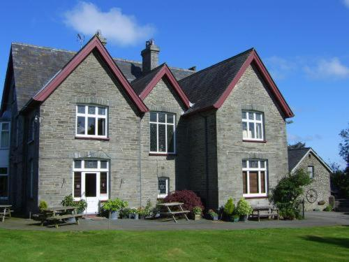 Rhyd Country House Hotel in Llechryd, Dyfed, South Wales