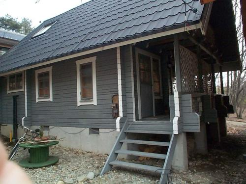 Cottage Mogi Log House Photo