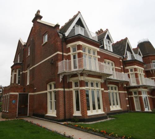Britten House in Lowestoft, Suffolk, East England