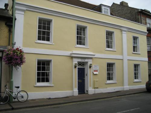 Ashley House in Newmarket, Suffolk, East England