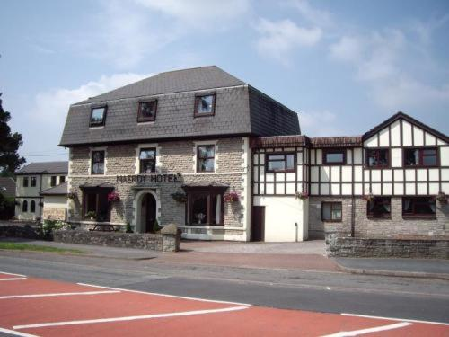 The Maerdy Hotel in Bridgend, Gwent and Glamorgan, South Wales