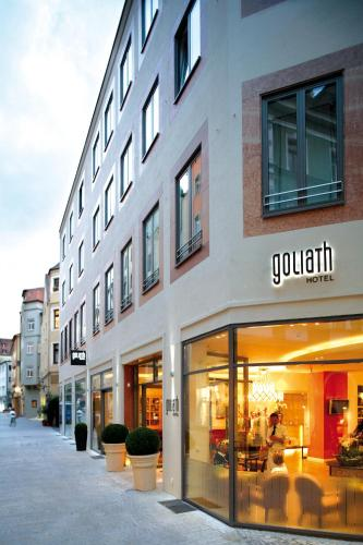 hotel goliath am dom regensburg low rates no booking fees. Black Bedroom Furniture Sets. Home Design Ideas