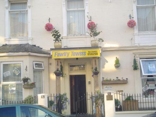 Fawlty Towers in Great Yarmouth, Norfolk, East England