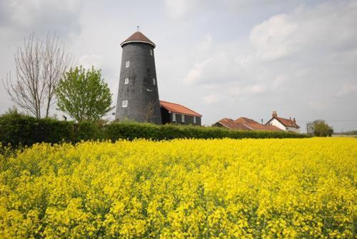 Yaxham Mill in Dereham, Norfolk, East England