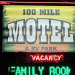 100 Mile Motel & RV Park, One Hundred Mile House, Kanada
