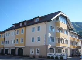 Hotel Leitnerbräu, Мондзее