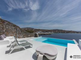 Villa Aqua, Miasto Mykonos