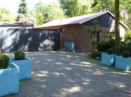Ferienhaus am Waldbad mit Garten