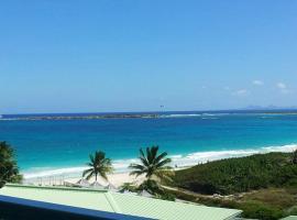 Panoramic Ocean View Orient Beach, Cul de Sac