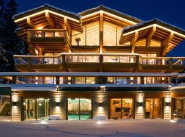 Chalet Migui Luxury Living & Spa *****, Crans Montana, 克莱恩 蒙塔纳