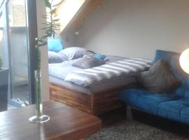 Apartment mit Dachloggia