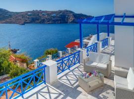 Syros Private House, Kínion