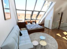 City Dachgeschoss Apartment,