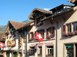 Hotel National, Frutigen