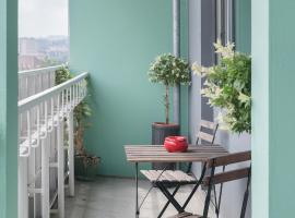 City Balcony Apartment