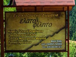 Hotel Elatofilito, Athamánion